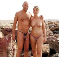 Nudist couple #33561066