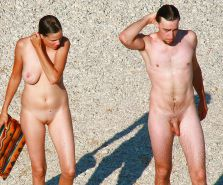 Nudist couple #33561086