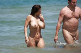 Nudist couple #33561106