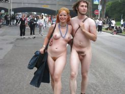 Nudist couple #33561139