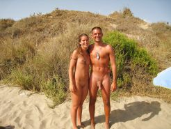 Nudist couple #33561146