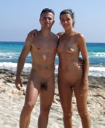 Nudist couple #33561245