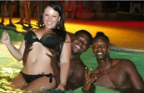 White Girls on Interracial Vacation #31750077