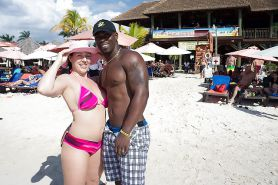 White Girls on Interracial Vacation #31750100
