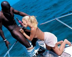 Interracial - Tropical Vacation for White Sluts! 2 #35204497