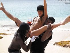 Interracial - Tropical Vacation for White Sluts! 2 #35204528