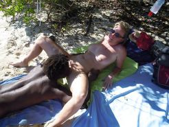 Interracial - Tropical Vacation for White Sluts! 2 #35204655