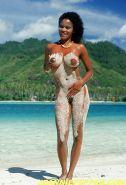 Black Girls at the Beach: Nudists and Exhibitionists #27813546