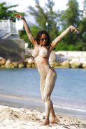 Black Girls at the Beach: Nudists and Exhibitionists #27813735