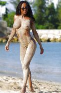 Black Girls at the Beach: Nudists and Exhibitionists #27813785