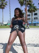 Black Girls at the Beach: Nudists and Exhibitionists #27813985