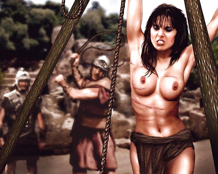 Nude Naked Warrior Princess Scenes