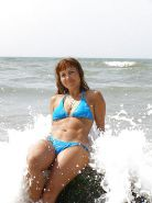 Mature women on the beach! Amateur! #25116034