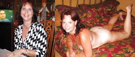 Mature Housewives - Dressed Undressed 1