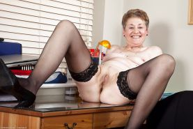 Old And Horny- Granma GILF MIX