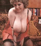 VINTAGE RETRO MATURE MILF WITH BIG BOOBS  #33312062