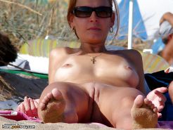 Collection of nude beach babes #25208092