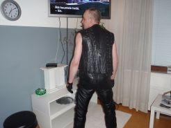 Finnish leather gay