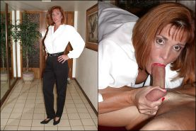 Busty Milf Twyla Dressed and Undressed #4