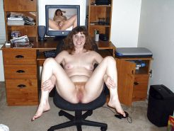 Moms,sluts,and whores on chairs showing off their cunts