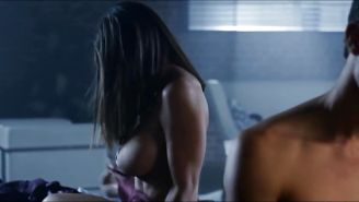 Charisma Carpenter Shows Off Kinky Side In Bound