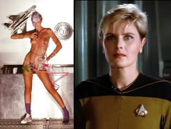 Star Trek Babes Nude Dressed and Undressed #37511987