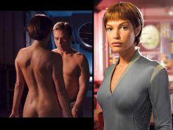 Star Trek Babes Nude Dressed and Undressed #37512117