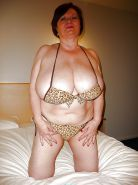 Mature Lady With Massive Tits