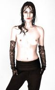 Keira Knightley topless in colour