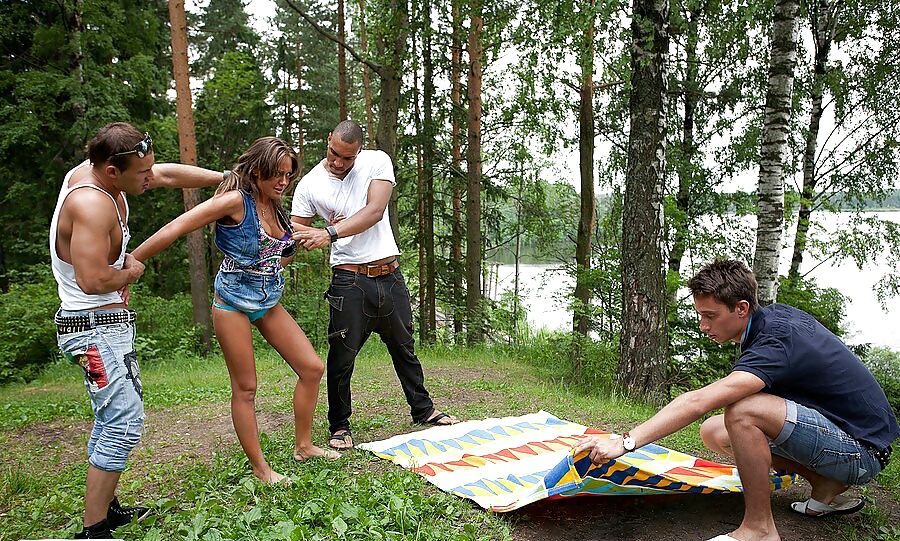 Group MMMF teen, Russian anal, blowjob picnic #31424167