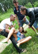 Group MMMF teen, Russian anal, blowjob picnic #31424220