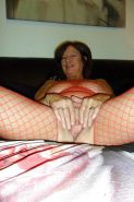 Hairy granny and mature
