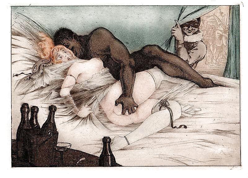 Vintage Erotic Drawings 3 #30582177