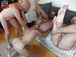 Old and Young Gang Bang 1