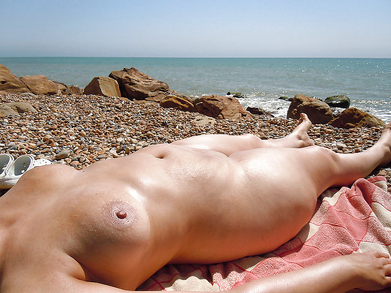 Mature women on the beach - 21 #24787876
