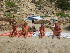 Nude Beach Couples #24672200
