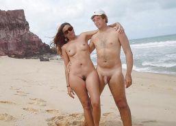 Nude Beach Couples #24672318