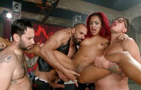 Brutalen Gang Bang, Doppelt Anal, Vaginal, Blowjob. Dap, Dp.