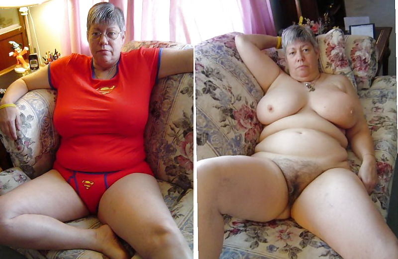 Dressed Undressed! Hairy mature mixed!  #35591994