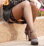 Public upskirt of russian girl at party (Camaster)