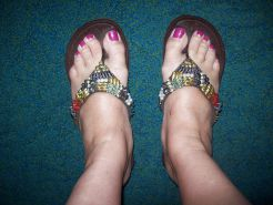 My sexy toes and feet