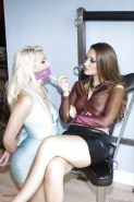 Steaming hot fetish ladies on high heels have some kinky lesbian fun