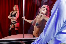 Crazy lesbian games with hot girls named Alena Croft and Vanessa Cage