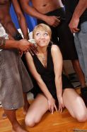 Interracial banging with innocent dick-swallowing blonde Jennie