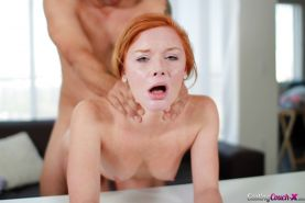 Amateur hardcore ass fucking scene features sexy redhead Alex Tanner