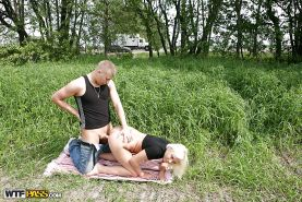 Foxy blonde with tiny tits gets nailed and takes a cumshot in her mouth #51410667