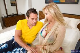 Mature vixen Julia Ann gets seduced and anal banged by a younger stud