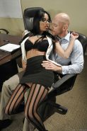 Busty babe Anissa Kate gets her pussy licked and her asshole drilled