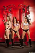 Monique Alexander, Chanel Preston and Alektra Blue create lesbian club
