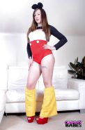 Gorgeous cosplay babe Elouise Please exploring her sexual fetishes